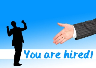 your are hired